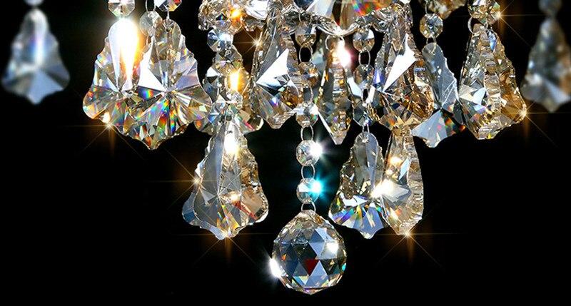 Lampade Cristallo Di Boemia : Cristallo di boemia sconto chandeleir lampade a led luci a
