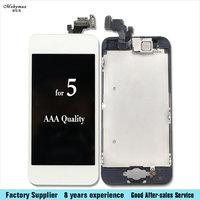 Mobymax LCD For IPhone 5s 5 5c Se 6 LCD Display Touch Screen Digitizer Assembly Home
