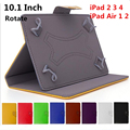 """Caso tablet para ipad air 10 polegadas 10 """"Capa protetora Anti-choque Cor Sólida PC Material PU Suporte Inteligente Titular Design de Moda"""