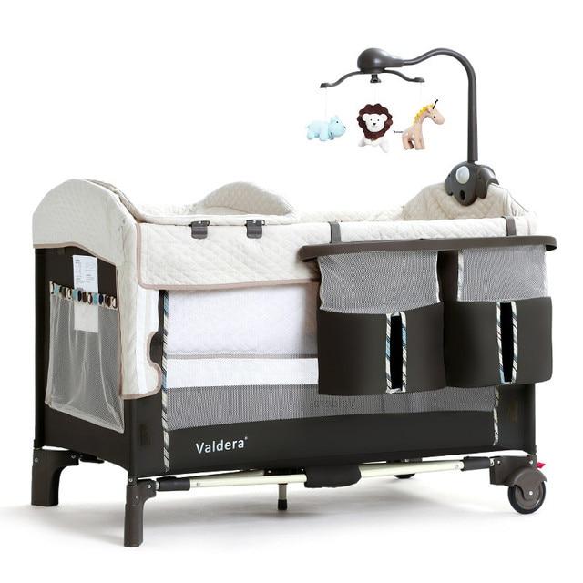 Valdera Portable Crib Continental Folding Multifunctional Game Bed