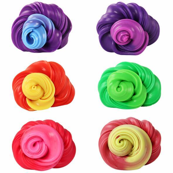 Handgum Temperature Change Turns Color Slime Magic Putty Toy Kids Plasticine j20
