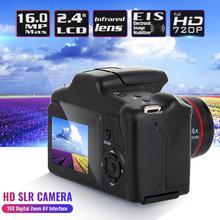 2.4 HD 1080P SLR kamera CMOS kuru pil ev telefoto dijital kamera taşınabilir dijital sabit Lens 16X Zoom AV arayüzü