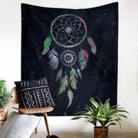 Feather Tapestry 150*130cm and 200*150cm Cover Beach Towel Throw Blanket Picnic Yoga Mat Home Decoration Textiles