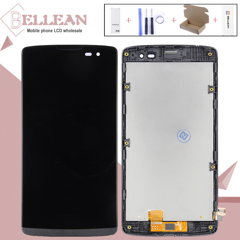 Catteny 1PCS 4.5inch H324 Display For LG Leon Lcd H340 Display Touch Screen Digitizer Assembly H320 H340N H326 MS345 C50 Display