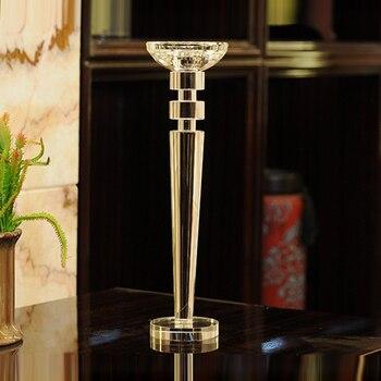 Bâtons De Cristal | Bougeoir En Verre Cristal, Bougeoirs Chauffe-plat, Chandelier En Verre De Lumière De Thé Pour La Décoration De La Maison