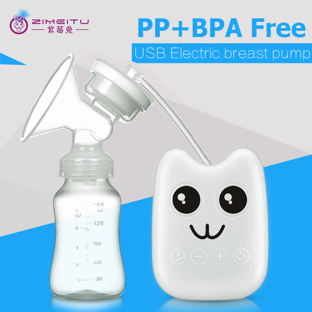 USB Eléctrica bebé sacaleches bomba de leche de succión del pezón pezón biberón sacaleches sacaleches cuidado del bebé
