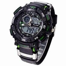 Relogio masculino Estilo G de los Deportes de Choque Impermeable Al Aire Libre Relojes Hombres de Cuarzo Horas Reloj Militar Digital LED Reloj de Pulsera