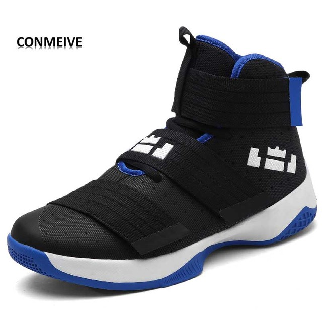 2017 New Men  Zapatillas Baloncesto  Men Sneakers Breathable Outdoor Athletic Sport Shoes Hombre Men Ankle Boots Basketball shoe