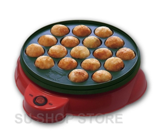 Chibi Maruko machine octopus baking machine household takoyaki machine octopus balls maker Professional cooking tools EU US