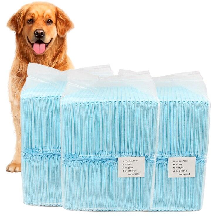 Conveniente 1 borsa Cane Assorbente Gatto Cane Urina Pad Pannolino Usa E Getta Cane di Animale Domestico di Zerbino Pannolino Pet Pipì di Carta Hogard AU17