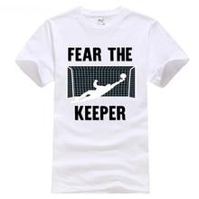 da4767268a0 Funny Goalkeeper Gift Shirts Fear The Keeper Soccering T Shirt 2018  footballer Champions League liverpool Bogdan