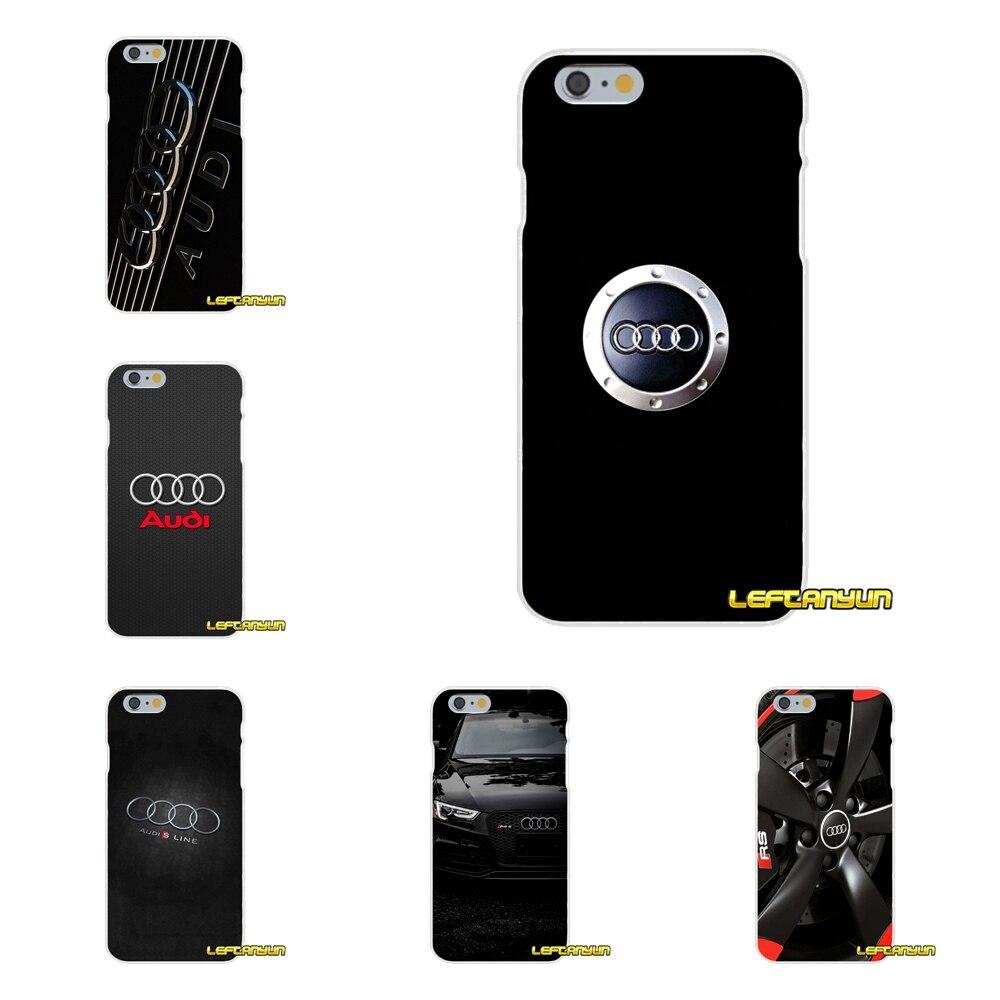 Для Motorola Moto G LG Spirit G2 G3 мини G4 G5 K4 K7 K8 K10 V10 V20 автомобиль Audi RS логотип мягкий силиконовый чехол для телефона ...