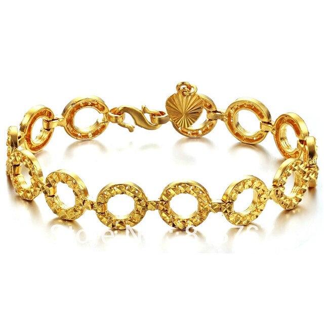 Fashion chunky chain bracelet, gold bracelet designs women