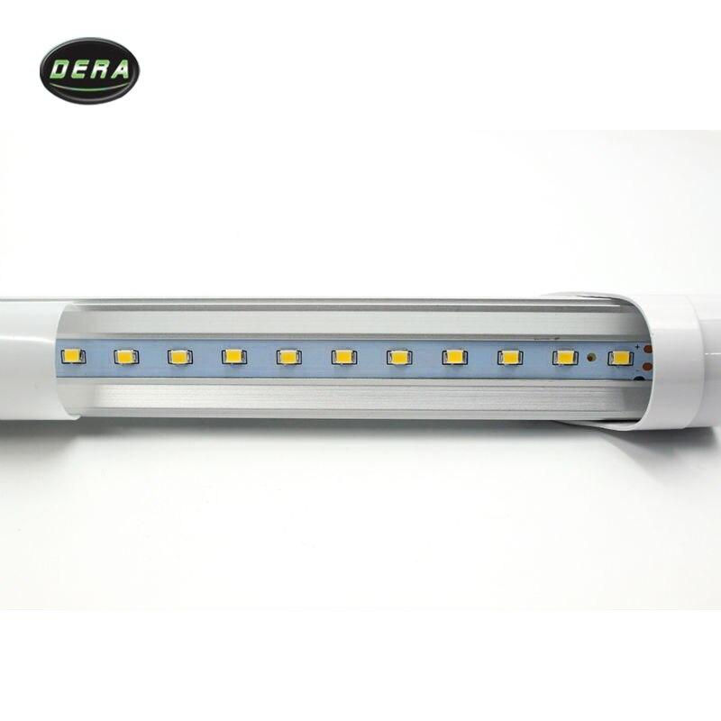 25/50 шт T8 2FT 600 мм 9 w Светодиодный свет пробки SMD 2835 супер Яркость AC110 277V lamparas светодиодная флуоресцентная лампа трубы 604 мм - 3