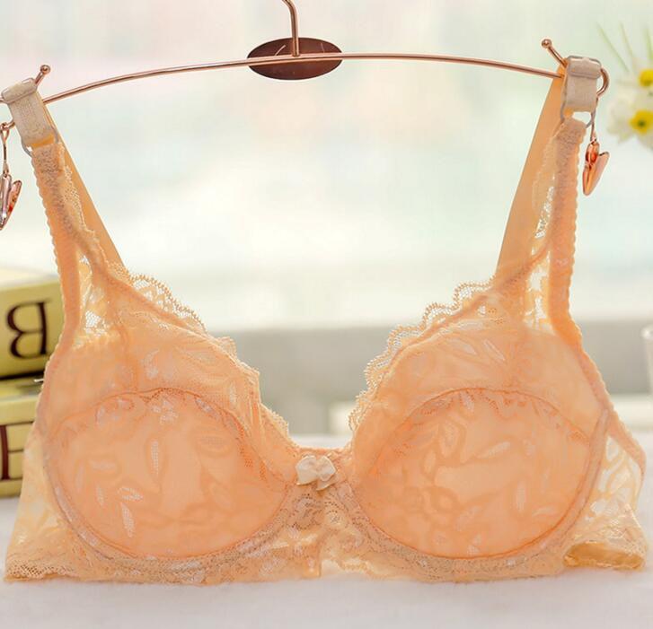ea83d503ce499 Dropwow Lace Bra Sexy Push Up Bra Breathable Lace Bras For Women ...