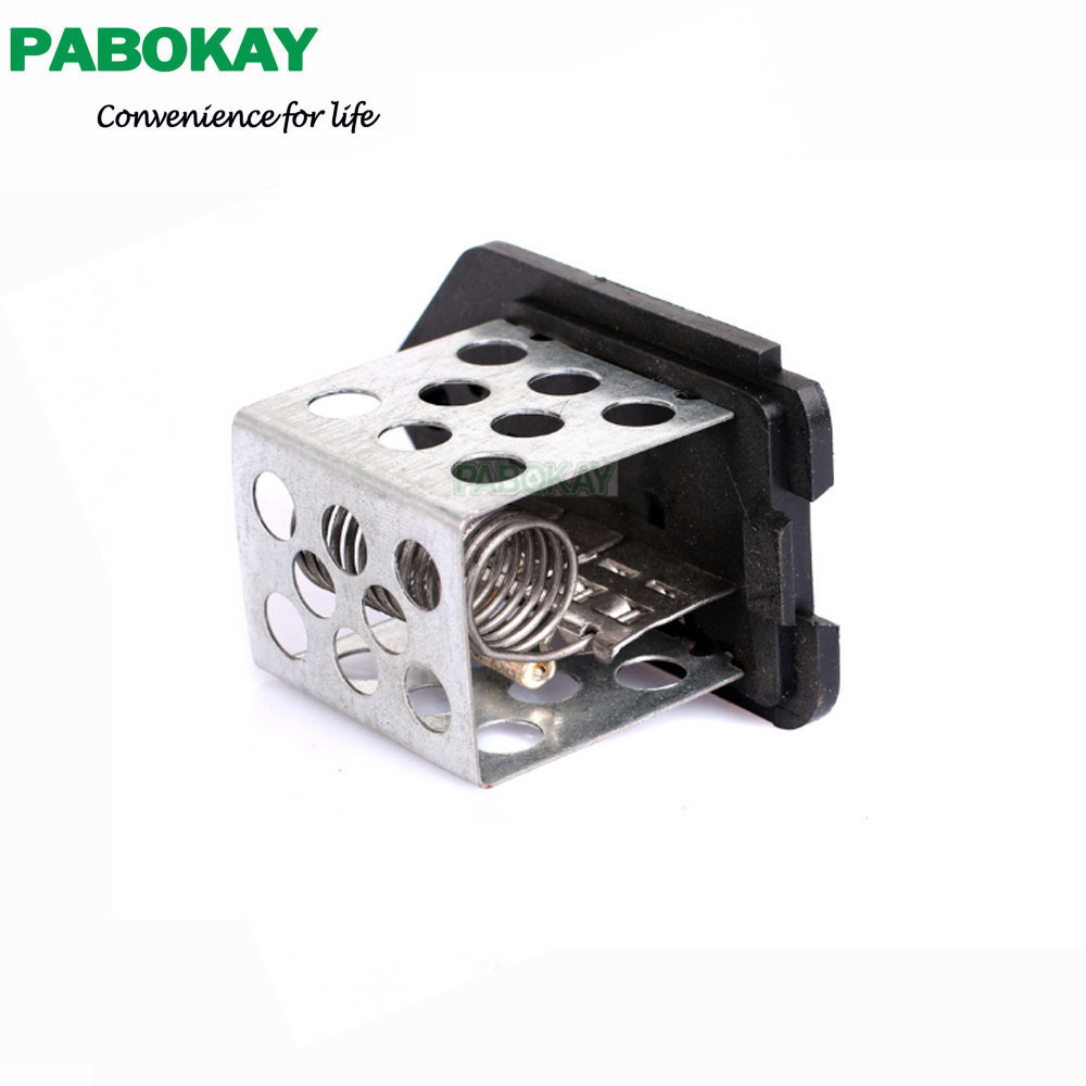 Black for citroen peugeot partner 206 406 radiator fan heater resistor 9641212480 1267 e3 1267e3