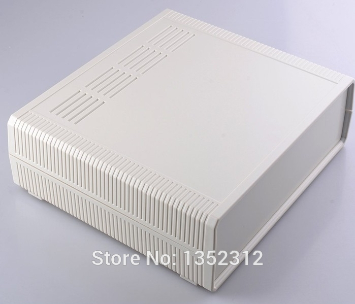 2 pcs/lot 290*260*80mm power amplifier enclosure box waterproof junction box abs plastic enclosure for electronic DIY case