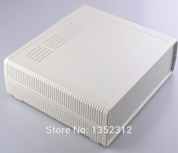 2 pcs/lot 290*260*80mm power amplifier enclosure box waterproof junction box abs plastic enclosure for electronic DIY case