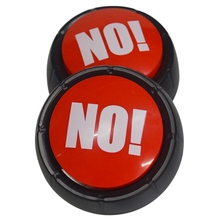 Press Yes No Button Music Box Party Meeting Games Supplies Decoration Button Toys