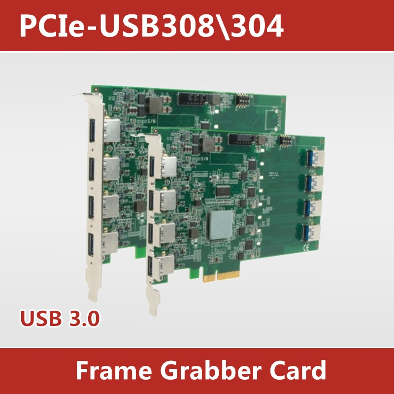 Data acquisition card #8 port 4 port USB3.0 expansion card PCIE machine vision high speed transmission camera