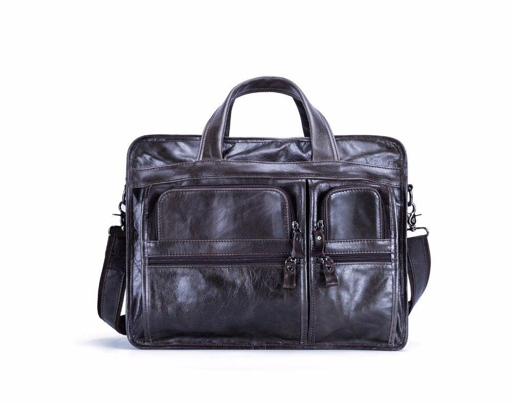 HTB1JQVKkJbJ8KJjy1zjq6yqapXaJ JOYIR Genuine Leather Men Briefcases Laptop Casual Business Tote Bags Shoulder Crossbody Bag Men's Handbags Large Travel Bag