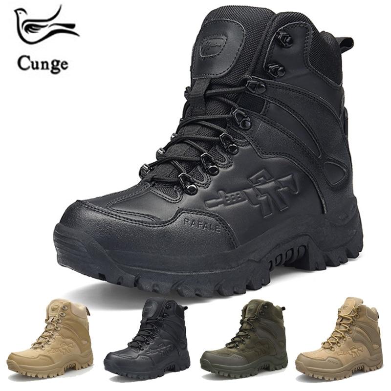 1ee9ab422294 De D'hiver Khaki Trekking En D'escalade Tourisme Sneakers Homme Sport Plein  green black Militaire Bottes Randonnée brown Hommes Tactique Chaussures Air  ...