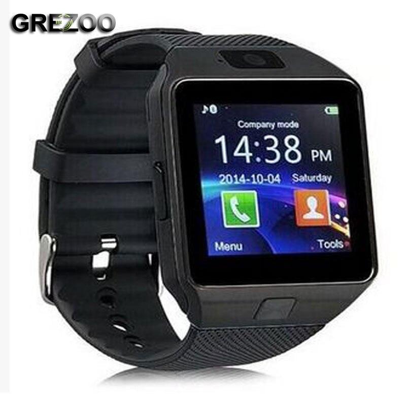 2018 New Hot Bluetooth Montre Smart Watch Poignet Hommes Montre Mode Sport montre pour Android Smartphone ios téléphone Sumsung Huawei Téléphone