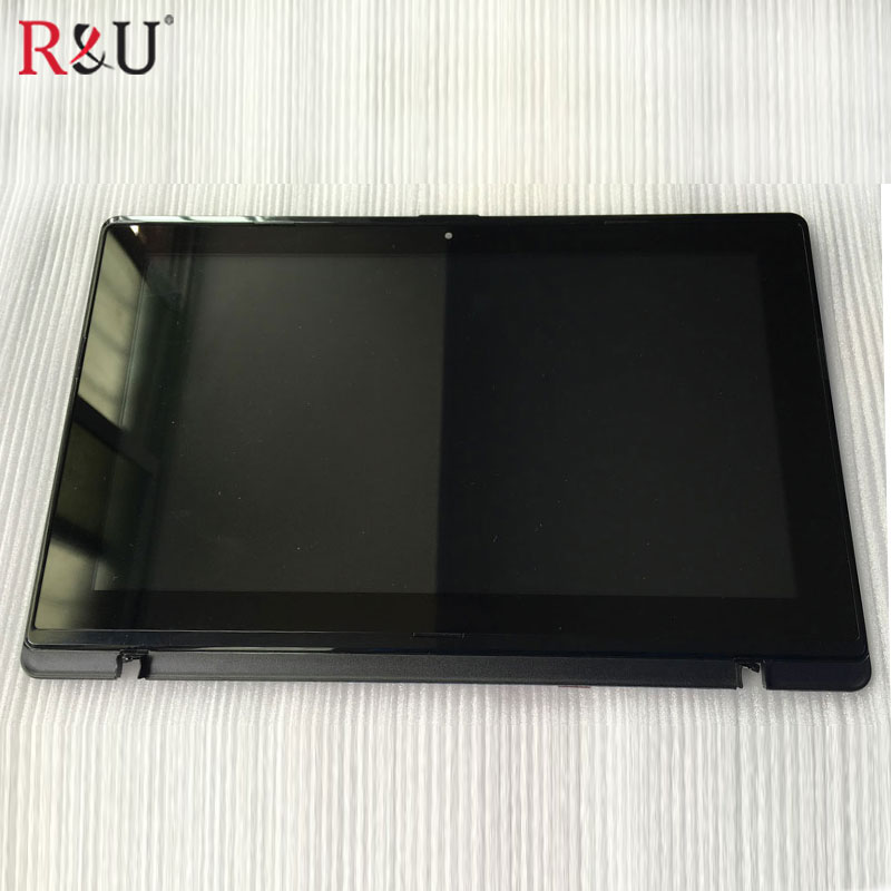 Used parts LCD display Touch Screen panel Digitizer assembly with frame Replacement parts for Asus Vivobook X200MA X200CA used parts lcd panel touch screen digitizer glass assembly with frame replacement parts for asus transformer book t300 t300la
