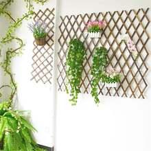 Раздвижной мгновенный Забор Открытый деревянный забор сад балкон