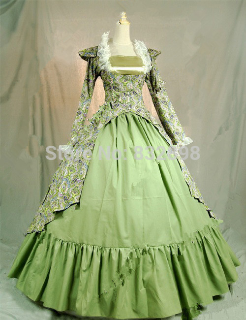 Top Sale Gothic Victorian Ball Gown Dresses /Long Stage Dresses ...