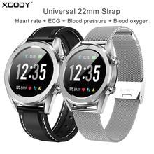 XGODY Sport Smart Watch Women Men IP68 Waterproof Blood Pressure Heart Rate Monitor Fitness Bracelet IOS Android With 22mm Strap