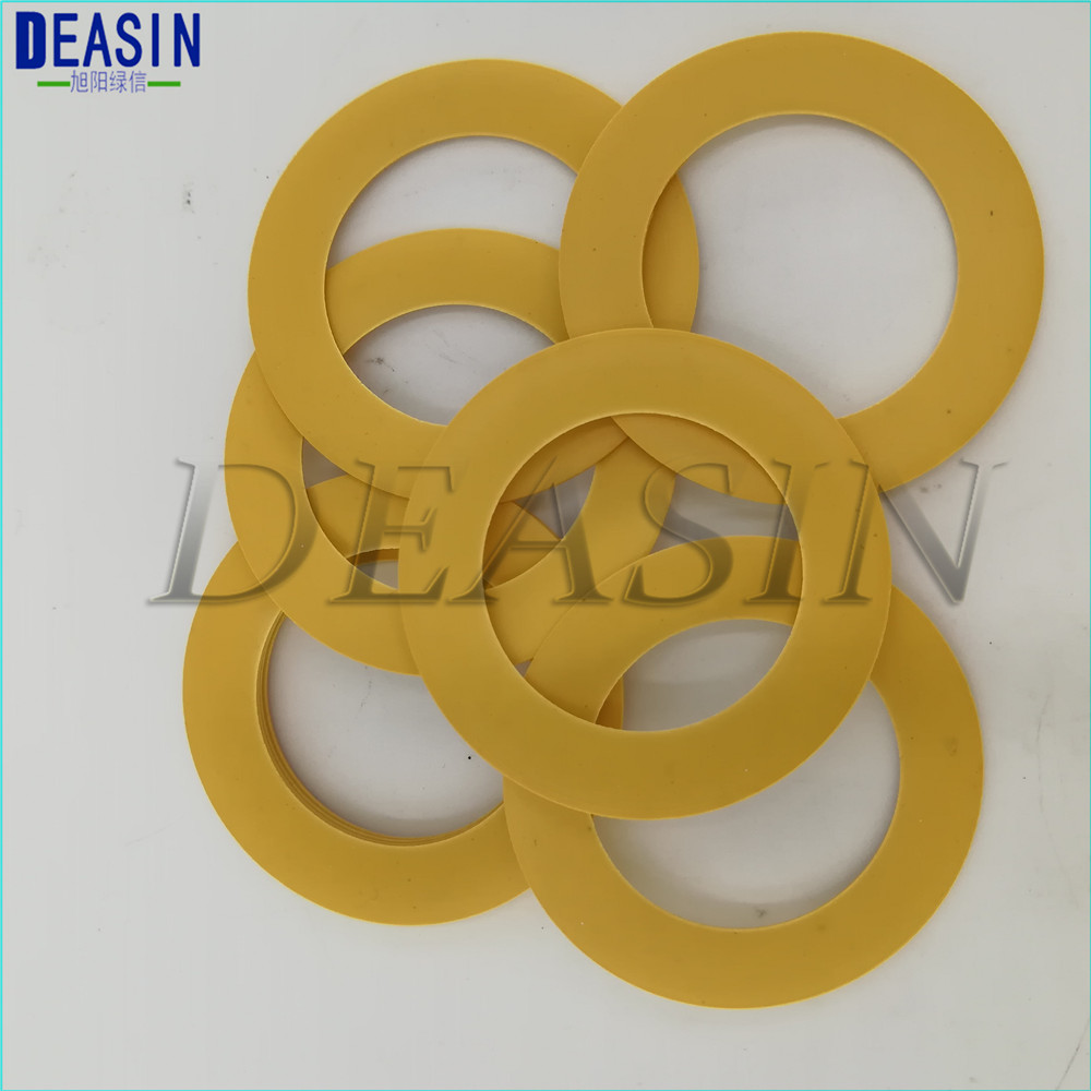 10pcs 44*32*0.8mm Compressor Use Pistons Imported Polyimide Rubber Ring Oil Free Air Compressor O Rings