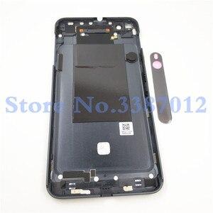 Image 2 - الأصلي 5.5 بوصة غطاء البطارية الخلفي الإسكان الغطاء ل HTC واحد X9u X9 عودة غطاء البطارية الباب الإسكان الخلفية حالة مع شعار