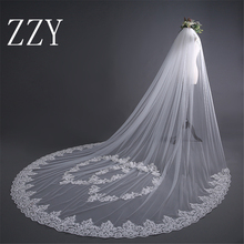 Wedding Accessories 2019 Appliques 3m Tullel Long Lace Edge