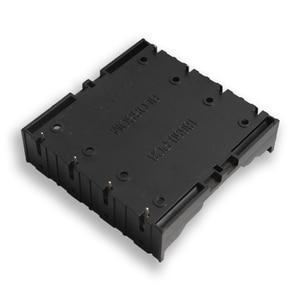 Image 3 - 100 ピース/ロット 18650 バッテリーホルダー 18650 電池ボックスホルダー電池ケースのための 4*3.7 V 18650 リチウム電池はんだ