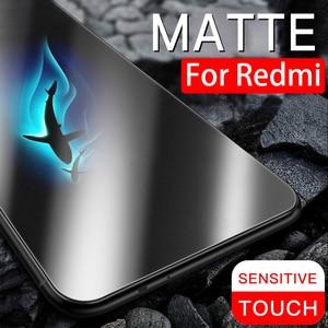 9 H антибликовое матовое закаленное стекло для redmi note 7 6 k20 pro Полное Защитное стекло для redme a2 lite go матовое защитное стекло