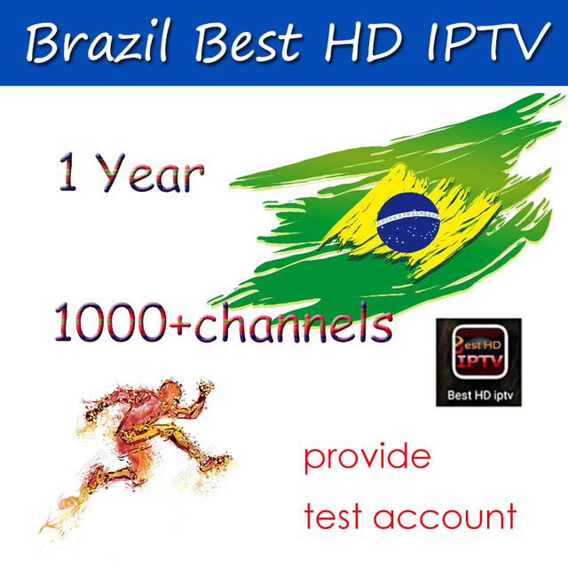 Satxtrem 1 Year IPTV Brazil Best HD IPTV Provider Provide Free Test 1000+VOD & Live Channels For Android Tv Box Fast and Stable