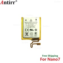 Antirr Original new Replacement Battery For ipod Nano7 7G 7th Generation MP3 Li-Polymer Rechargeable Nano 7 616-0639 Batteries