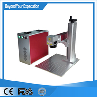 Stainless Steel Portable 10w Fiber Laser Engraving Machine For Copper