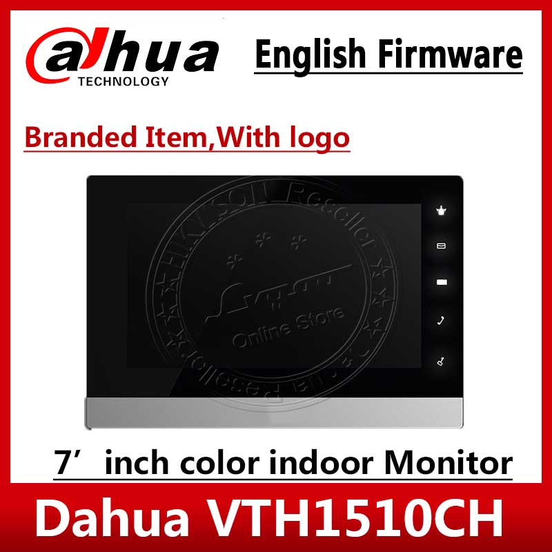 Dahua Original English Version VTH1510CH IP Video Intercom 7- Inch Indoor POE Touch Screen Monitor With Logo VTH1550CH