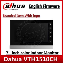 Dahua orijinal İngilizce sürümü VTH1510CH IP Video interkom 7 inç kapalı POE dokunmatik ekran logo VTH1550CH