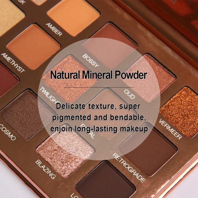 18 Colors Eye Shadow Palette Makeup