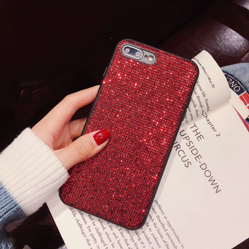 Luxury color Shiny Rhinestone phone Case For Huawei