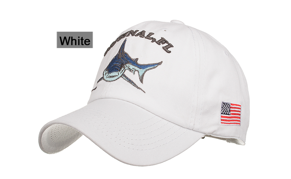 Hat Shark Pickle Cartoon Parody Customized Printed Bandana White