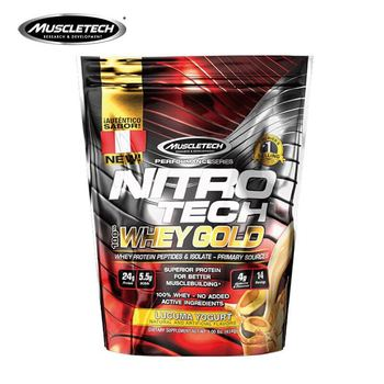 1Ib of 450g Muscletech Muscle Technology Gold Protein Powder Nitrogen whey protein fitness muscle gain muscle Free shipping