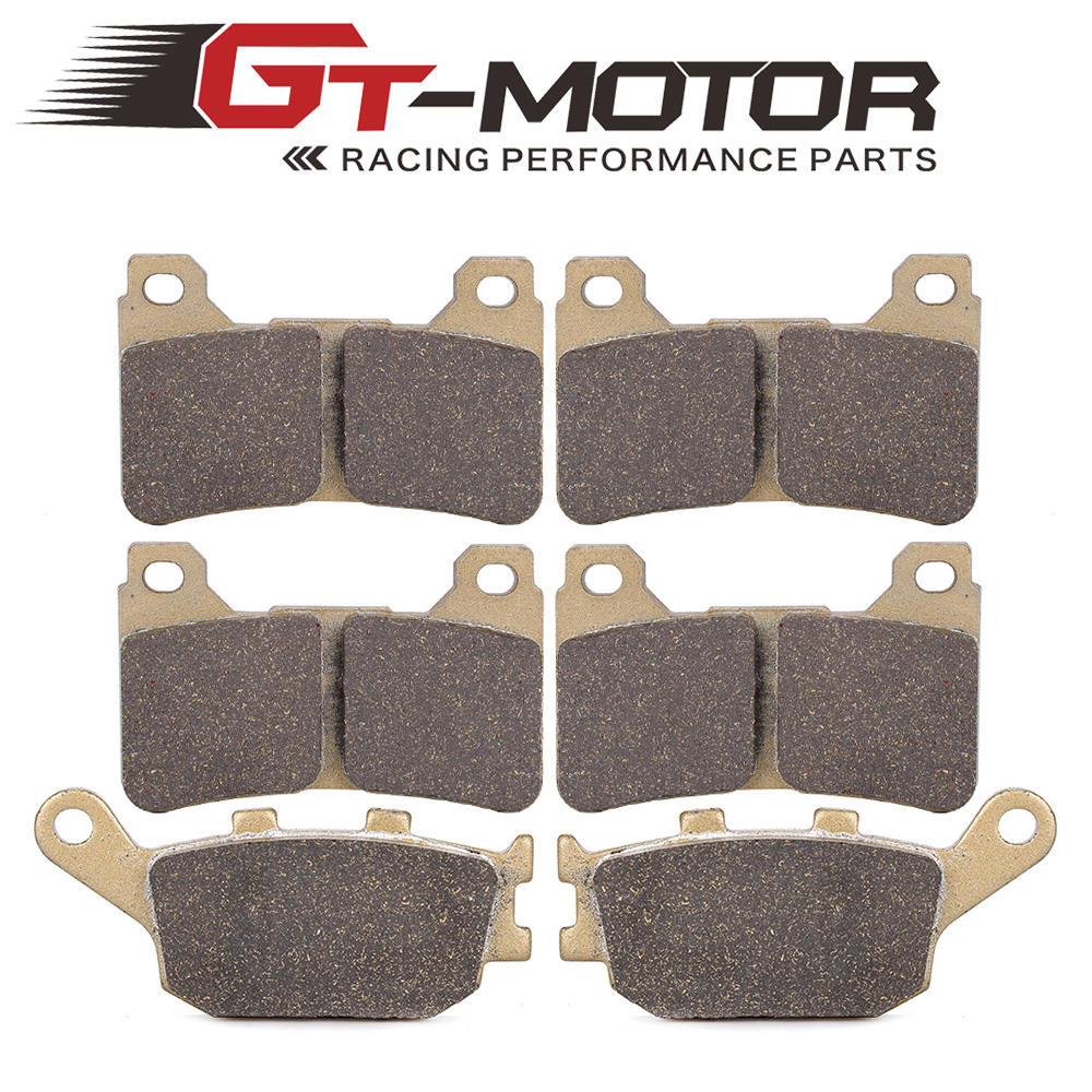 Motorcycle Front and Rear Brake Pads For HONDA CBR600RR 2005-2006 CBR1000RR 2004-2005 motorcycle front and rear brake pads for honda vt250fl spada castel1988 1990