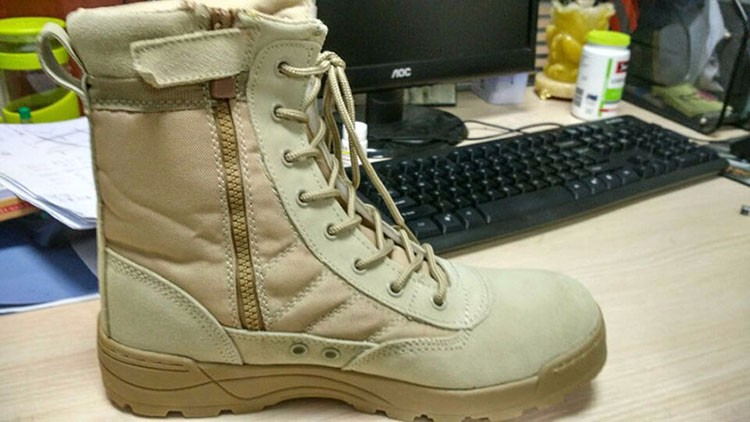 Delta Tactical Boots Military Desert SWAT American Combat Boots Outdoor Shoes Breathable Wearable Boots Hiking EUR size 39-45 High Quality (17)