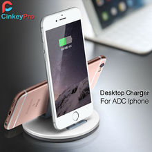 USB Charger Dock For iPad iPhone 6 7 6S 5S Plus Stand Partner Chargers Adapter Holder Desktop Cradle Charging CinkeyPro