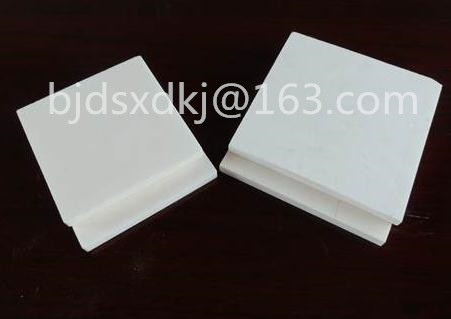 99 Alumina Ceramic Plate Square Insulated Wear Resisting LWH 1001007mm