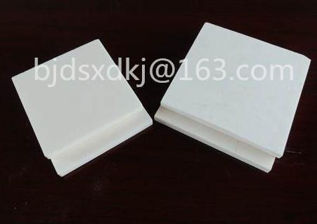 99% Alumina Ceramic Plate , Square , Insulated , Wear-resisting , L*W*H: 100*100*7mm цена